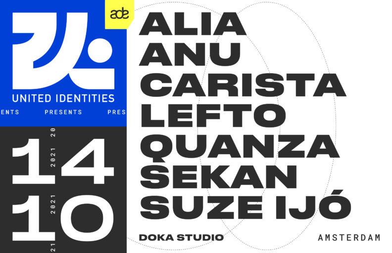 ADE   United Identities – Carista, Suze Ijó, Sekan, QUANZA + more TBA